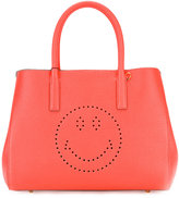 Anya Hindmarch Smiley Ebury tote - women - Leather - One Size