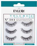Eylure Strip Eyelashes Volume No. 101 Multipack x 3