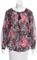 IRO Silk Printed Blouse