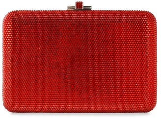 Judith Leiber Slim-Side Box Clutch Bag