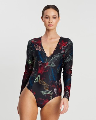Duskii Fleur Sleek Long Sleeve One-Piece