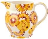 Emma Bridgewater Black Toast 'Oranges' Half Pint Jug, Orange, 1L