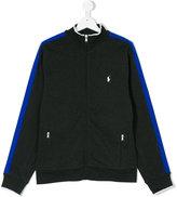 Ralph Lauren Teen contrast-trimmed zip-up sweatshirt