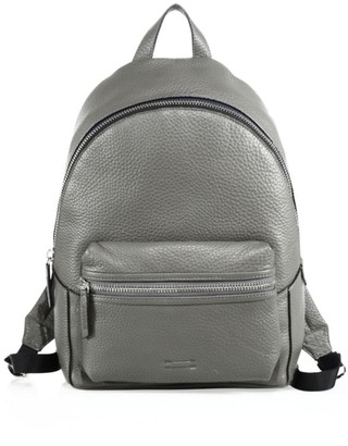 Uri Minkoff Leather Zipped Backpack
