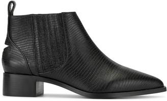 Senso Leighton lizard-effect boots