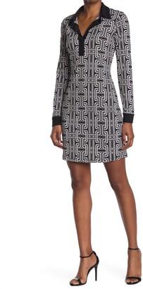 Tash + Sophie Collared Shirt Dress