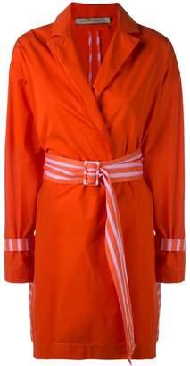 Silvia Tcherassi Gold trench coat
