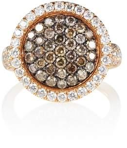Olivia Grace Venezia Rose Gold Cocktail Ring