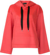 G.V.G.V. textured oversized hoodie