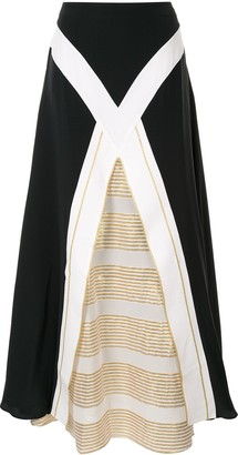 ZEUS + DIONE Maxi Layered Skirt