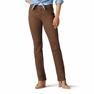 Lee Women's Secretly Shapes Regular Fit Straight Leg Jean