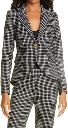 Smythe Check Wool Blazer