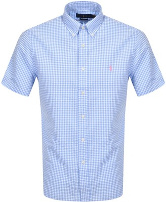 Ralph Lauren Custom Fit Short Sleeve Shirt White