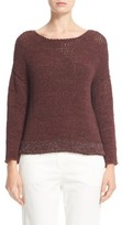 Fabiana Filippi Women's Mollini Trim Cotton Blend Sweater