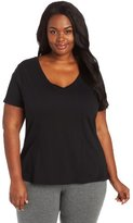 Jockey Women's Plus-Size V-Neck Sleep Tee