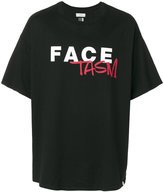 Facetasm logo printed T-shirt - unisex - Cotton - One Size