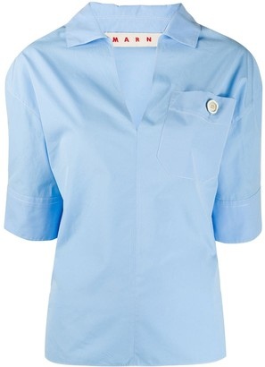 Marni V-neck shirt blouse