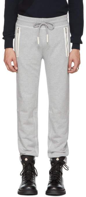 Moncler Grey PCKT Sweatpants