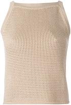 Zanone knitted tank - women - Cotton - 40