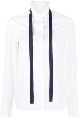 Chloé Bow-Neck Shirt
