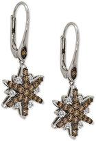 LeVian Le Vian Chocolatier® Diamond Starfish Drop Earrings (1-1/3 ct. t.w.) in 14k White Gold