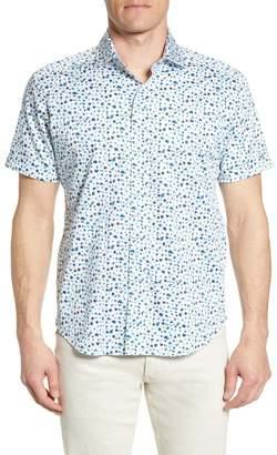 Robert Graham Tailored Fit Mini Floral Bug Shirt