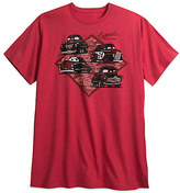 Disney Cars 3 Tee for Men - Red - Plus Size