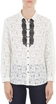 Gerard Darel Barry Lace Blouse