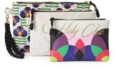 Tricoastal Design Tri-Coastal Design Embossed Floral ''Holy Chic'' Cosmetic Case Set