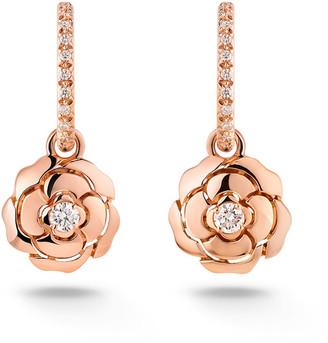 Chanel Extrait De Camélia Earrings