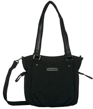 Vera Bradley Mini Glenna Satchel (Classic Black) Bags