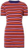 The Elder Statesman striped rib knit dress