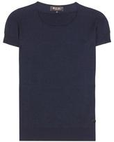 Loro Piana Cashmere and silk T-shirt