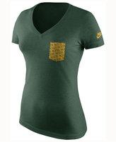 Nike Women's Green Bay Packers Pocket V-Neck T-Shirt