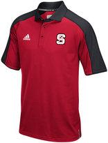 adidas Men's North Carolina State Wolfpack Sideline Polo Shirt