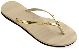 Havaianas Women's You Metallic Slim Flip-Flops