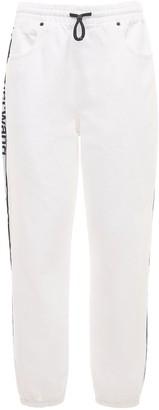 Alexander Wang Denim Sweatpants W/Logo Bands