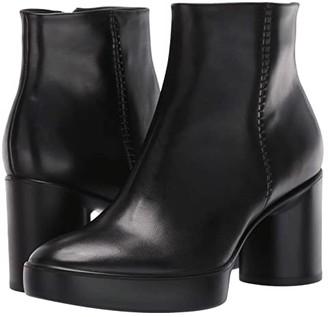 Ecco Shape Sculpted Motion 55 Ankle Boot (Black) Women's Boots