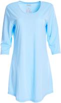 Hanes Blue Scoop Neck Sleep Dress