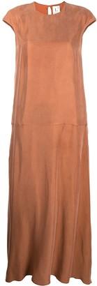 L'Autre Chose short-sleeved flared dress