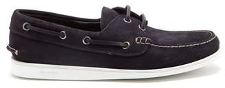 Church's Marske Suede Deck Shoes - Mens - Navy