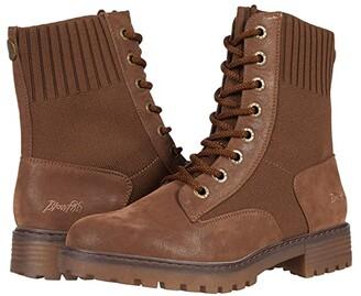 Blowfish Reilly (Tobacco Raven/Rust Knit Tech) Women's Boots