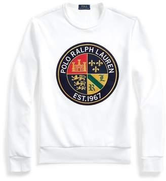 Ralph Lauren Double-KnitGraphic Sweatshirt