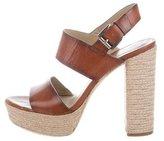 Michael Kors Platform Ankle Strap Sandals