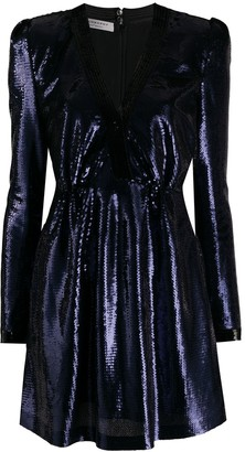 Philosophy di Lorenzo Serafini V-neck sequin-embellished dress