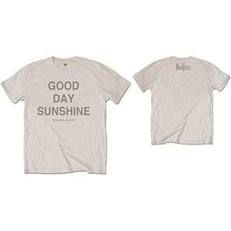 The Beatles Men's Good Day Sunshine (Back Print) T-Shirt,Medium