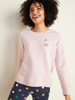 Old Navy Holiday-Graphic Vintage Crew-Neck Sweatshirt for Women