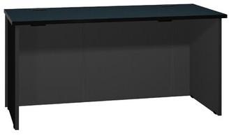 Ironwood Modular Reversible Desk Color: Black Granite / Black