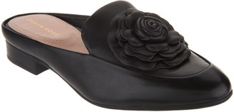 Taryn Rose Leather or Suede Loafer Mules - Blythe