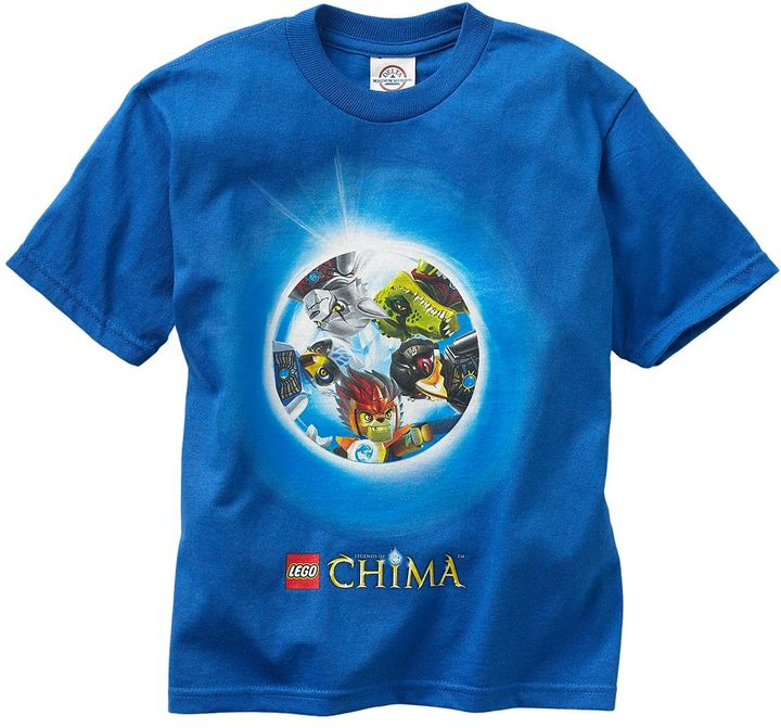 Lego legends of chima tee - boys 4-7
